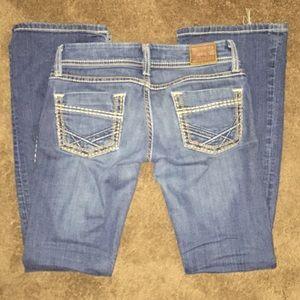 24R BKE Stella Flare Jeans